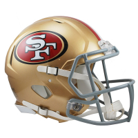 49ers Full-Size Speed Helmet at PristineAuction.com