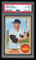 Mickey Mantle 1968 Topps #280 (PSA 6) at PristineAuction.com