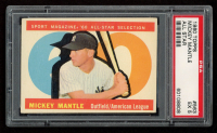 Mickey Mantle 1960 Topps #563 All-Star (PSA 5) at PristineAuction.com