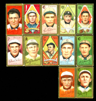 Lot of (12) Assorted Vintage Tobacco Baseball Cards with Bobby Byrne 1911 T205 Gold Border #27, Larry Doyle 1911 T205 Gold Border #54, Neal Ball 1909-11 T206 #16 at PristineAuction.com