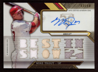 Mike Trout 2016 Topps Triple Threads Relic Autographs #TTARMT1 at PristineAuction.com