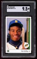 Ken Griffey Jr. 1989 Upper Deck #1 RC (SGC 9.5) at PristineAuction.com