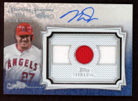 Mike Trout 2020 Topps Sterling Sterling Seasons Relic Autographs Blue #SSARMT at PristineAuction.com