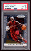 LeBron James 2013-14 Panini Prizm #65 (PSA 10) at PristineAuction.com
