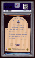 LeBron James 2003-04 Upper Deck SE Die Cut Future All-Stars #E15 RC (PSA 9) at PristineAuction.com