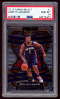 Zion Williamson 2019-20 Select #1 RC (PSA 10) at PristineAuction.com