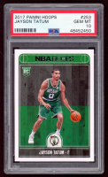 Jayson Tatum 2017-18 Hoops #253 RC (PSA 10) at PristineAuction.com
