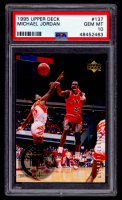 Michael Jordan 1995-96 Upper Deck The Rookie Years #137 (PSA 10) at PristineAuction.com