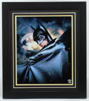 "Val Kilmer Signed ""Batman Forever"" 23x26 Custom Framed Photo Inscribed ""Batman"" (Beckett Hologram) at PristineAuction.com"