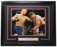 "Donald ""Cowboy"" Cerrone Signed 16x20 Custom Framed Photo Display (Beckett COA) at PristineAuction.com"
