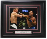 "Donald ""Cowboy"" Cerrone Signed 16x20 Custom Framed Photo Display (Beckett COA) at PristineAuction.com"