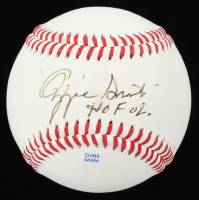 "Ozzie Smith Signed Official League Baseball lnscribed ""HOF 02"" & ""Good Luck!"" (JSA COA) at PristineAuction.com"