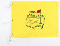 Bryson Dechambeau Signed 2016 Masters Tournament Golf Pin Flag (PSA LOA) at PristineAuction.com