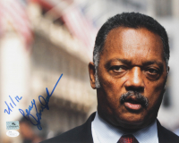 "Jesse Jackson Signed 11x14 Photo Inscribed ""2/1/12"" & ""Peace"" (JSA COA) at PristineAuction.com"