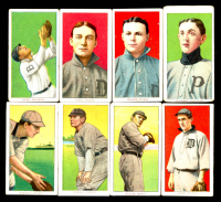 Lot of (8) Assorted Vintage Tobacco Baseball Cards with 1909-11 T206 #237 Davy Jones/Detroit, 1909-11 T206 #349 George Mullen/(Mullin), 1909-11 T206 #217 Izzy Hoffman/Providence ML at PristineAuction.com