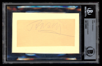 Rosey Rowswell Signed 3x5 Cut on Index Card (BAS Encapsulated) at PristineAuction.com