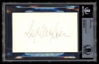 Sophia Loren Signed 3x5 Index Card (BAS Encapsulated) at PristineAuction.com