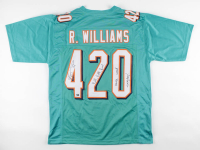 "Ricky Williams Signed Jersey Inscribed ""Smoke Weed Everyday!"" & ""Puff, Puff, Run"" (Palm Beach COA) at PristineAuction.com"