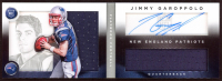 Jimmy Garoppolo 2014 Panini Playbook #154 Jersey Autograph RC - #22/299 at PristineAuction.com