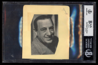 "Fuzzy Knight Signed Signed 4.5x5 Cut Inscribed ""The Best Of Luck"" & ""1939"" (BGS Encapsulated) at PristineAuction.com"