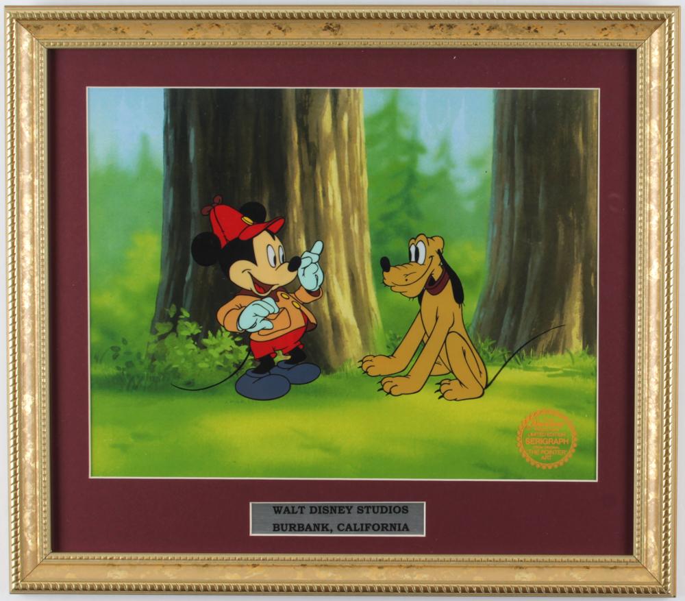 "LE Walt Disney's 1939 ""The Pointer Art"" 13x16 Custom Framed Serigraph Cel at PristineAuction.com"