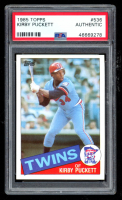 Kirby Puckett 1985 Topps #536 RC (PSA Authentic) at PristineAuction.com