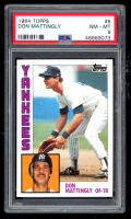 Don Mattingly 1984 Topps #8 RC (PSA 8) at PristineAuction.com