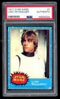 Luke Skywalker 1977 Star Wars #1 (PSA Authentic) at PristineAuction.com