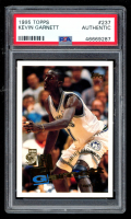 Kevin Garnett 1995-96 Topps #237 RC (PSA Authentic) at PristineAuction.com