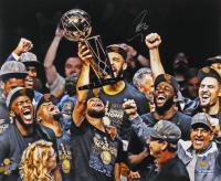 Stephen Curry Signed Warriors 20x24 Photo (Steiner COA) at PristineAuction.com