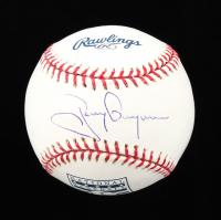 Tony Gwynn Signed OML Hall of Fame Logo Baseball (MLB Hologram) at PristineAuction.com
