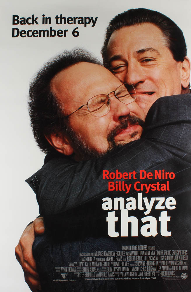 """""""Analyze That"""" 27x40 Movie Poster at PristineAuction.com"""