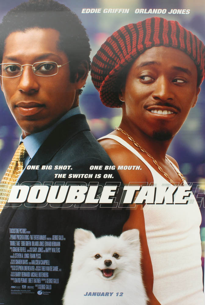 """""""Double Take"""" 27x40 Double Sided Movie Poster at PristineAuction.com"""