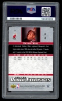 Dwyane Wade 2003-04 Upper Deck Rookie Exclusives #5 RC (PSA Authentic) at PristineAuction.com