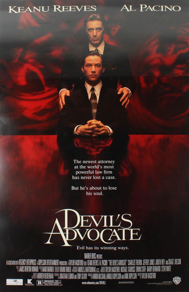 """The Devil's Advocate"" 27x40 Original Movie Poster at PristineAuction.com"