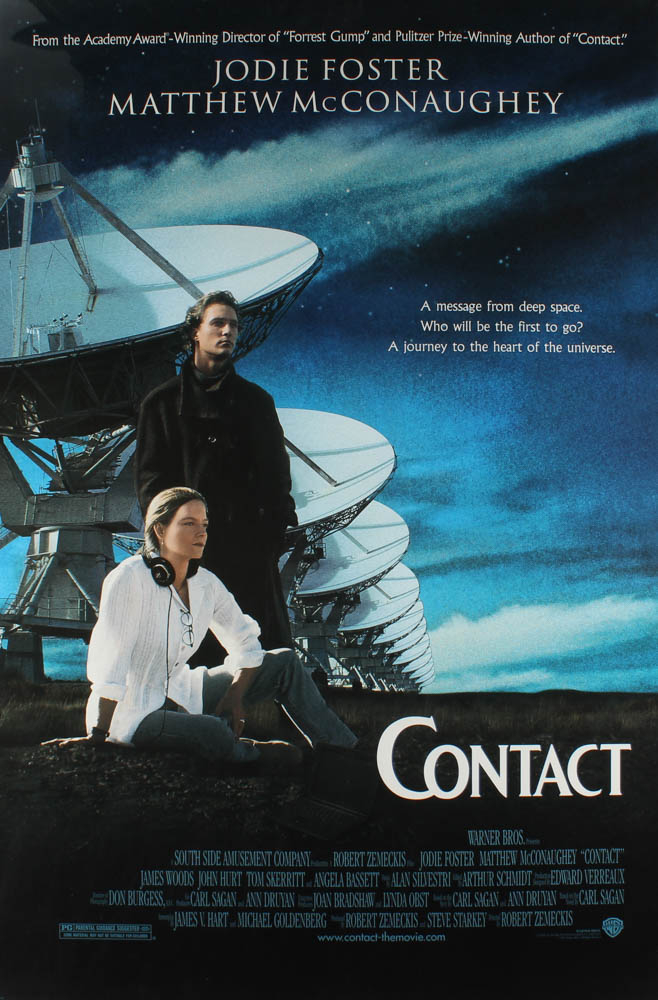 """Contact"" 27x40 Original Movie Poster at PristineAuction.com"