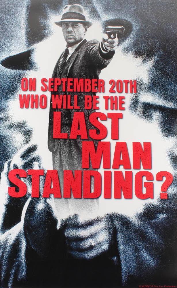 """Last Man Standing"" 27x40 Original Movie Poster at PristineAuction.com"