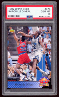 Shaquille O'Neal 1992-93 Upper Deck #474 Top Prospects (PSA 10) at PristineAuction.com