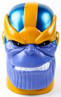 Stan Lee Signed Marvel Thanos Coin Bank (Radtke Hologram & Lee Hologram) at PristineAuction.com