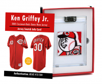 KEN GRIFFEY JR. 2005 CINCINNATI REDS GAME WORN JERSEY MYSTERY SWATCH BOX! at PristineAuction.com
