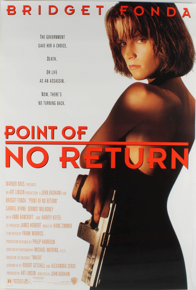 """Point of No Return"" 27x40 Original Movie Poster at PristineAuction.com"