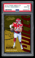 Patrick Mahomes II 2018 Absolute #49 (PSA 10) at PristineAuction.com