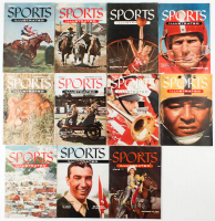 Lot of (10) 1954 Sports Illustrated Magazines at PristineAuction.com