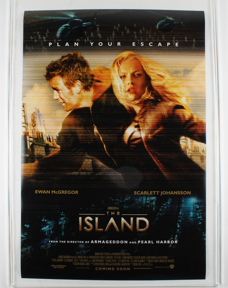 """""""The Island"""" 27x40 Movie Poster at PristineAuction.com"""