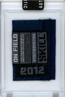 RUSSELL WILSON 2012 SEATTLE SEAHAWKS GAME WORN JERSEY MYSTERY SWATCH BOX! at PristineAuction.com