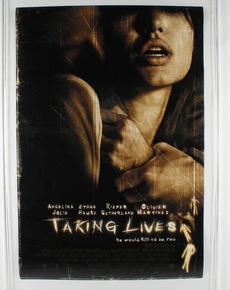 """Taking Lives"" 27x40 Original Movie Poster at PristineAuction.com"