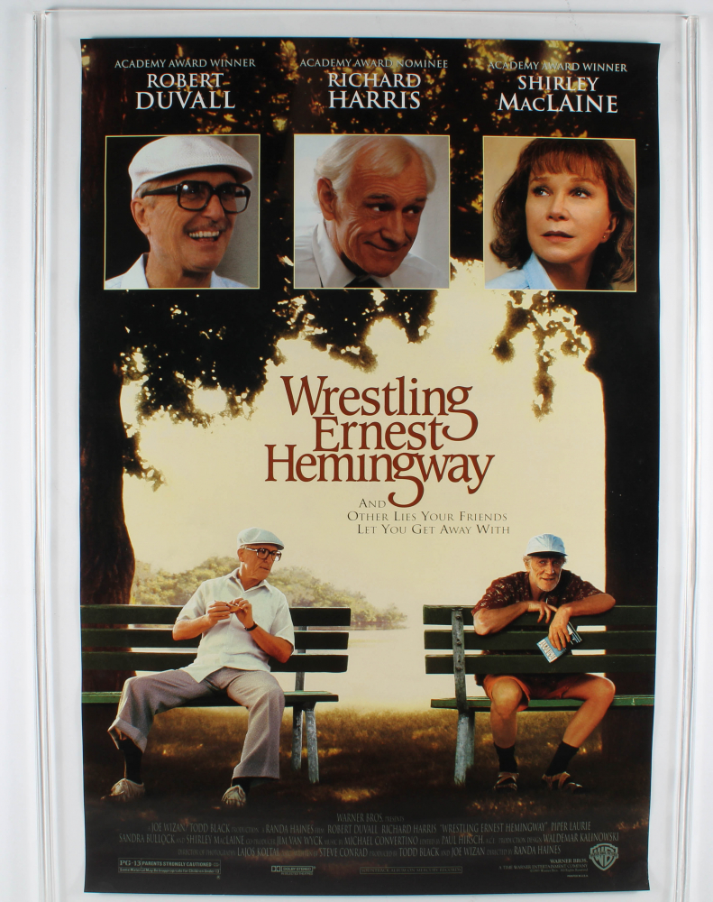 """Wrestling Ernest Hemingway"" 27x40 Original Movie Poster at PristineAuction.com"