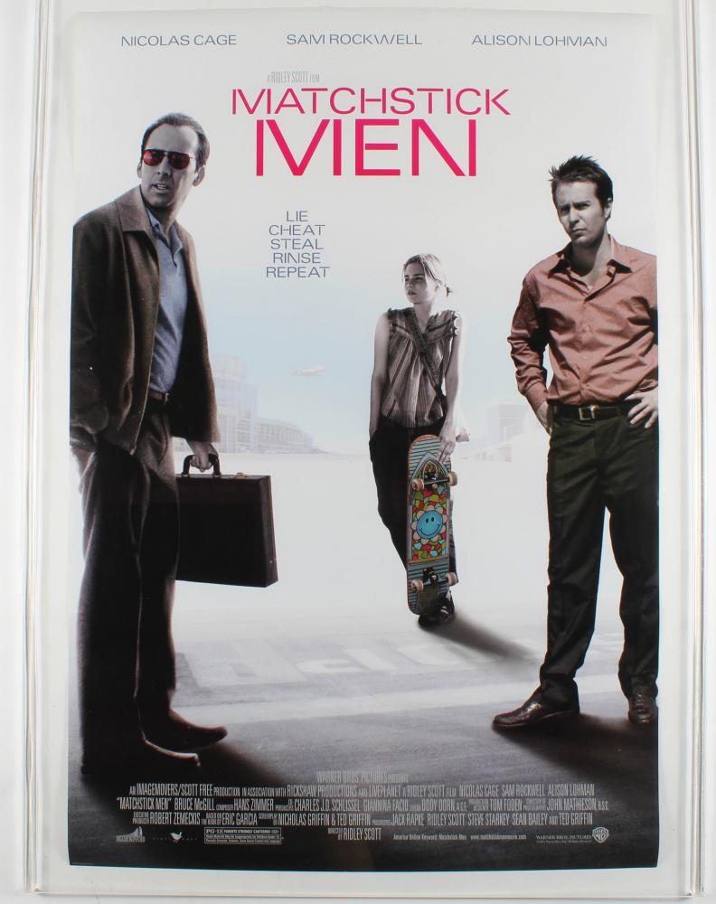 """""""Matchstick Men"""" 27x40 Original Movie Poster at PristineAuction.com"""