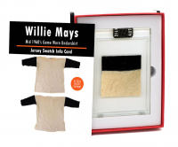WILLIE MAYS 1960'S SAN FRANCISCO GIANTS GAME WORN SHIRT MYSTERY SWATCH BOX! at PristineAuction.com