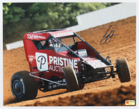 Kyle Larson Signed 2020 Indiana Midget Week Exclusive 11x14 Photo (PA COA) at PristineAuction.com